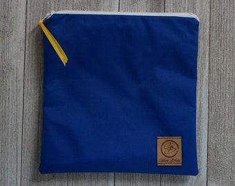 Reusable Sandwich Bag - Royal Blue Nylon