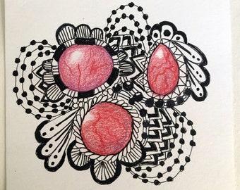 Original Artwork Tangle