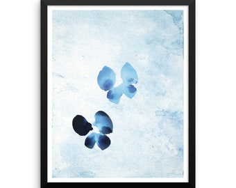 Butterfly Tag - Framed Poster Print