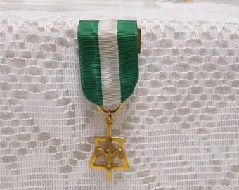BSA Gold Filled Uniform Medal Achievement