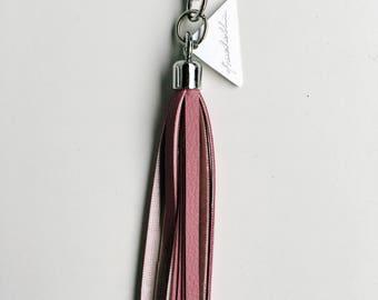 Frachella's Keychain deep pink