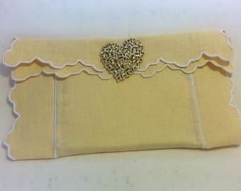 Little Surprises Scalloped Clutch