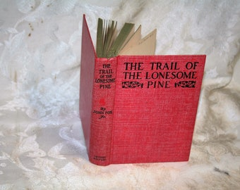 "New Year's Sale!  Rare & Collectible Vintage 1908 / 1936 Edition ""Trail of the Lonesome Pine"" by John Fox Jr.!"