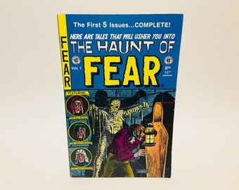 Vintage Horror Comic Magazine The Haunt of Fear Annual Vol. 1 1994 First Five Issues