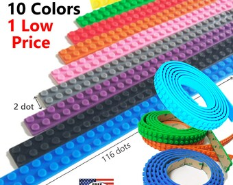 For LEGO® Bricks - Compatible Adhesive Baseplate Tape