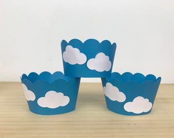 Cloud Cupcake Wrapper -12