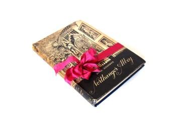 Northanger Abbey By Jane Austen, Goldfinch Title Edition, HB DJ, Vintage Jane Austen Book, Antique Austen Book, Austen Wedding