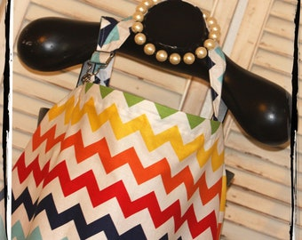 CHEVRON Sale 40% Off -Rainbow Chevron Nursing Cover