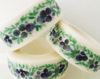 Purple Posy Washi Tape