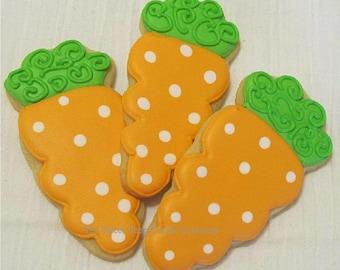 Easter Carrot cookies 2 dozen