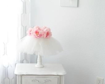 Lamps, Lighting, Nursery Lamp, Table Lamp, Shabby Chic Lamp, Bedroom Lamp
