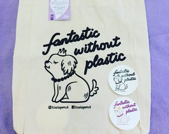 Fantastic without Plastic - Koala Gemuk tote bag