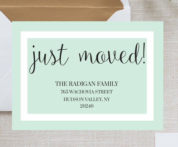 Items similar to We've Moved Cards - We Have Moved - New ...