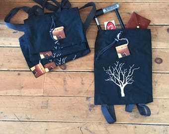 Reflective Tree Cloth Backpack