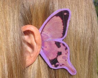 Lavender Butterfly Ear Wings (sm)