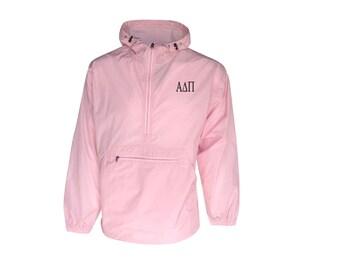 Alpha Delta Pi Unlined Anorak (Pink)