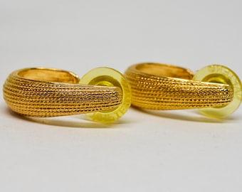 Lovely Napier gold tone earrings
