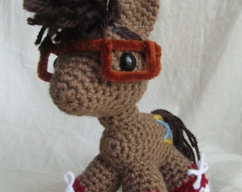 Tenth Doctor Whooves - David Tennant inspired amigurumi