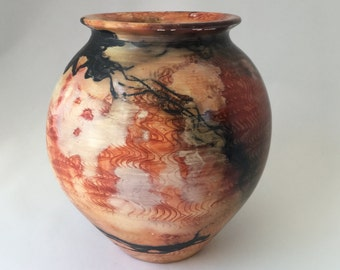 Burnished Saggar Fired Pot