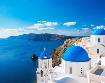 Greece wall decals sea decals Greece style stickers murals removable N191