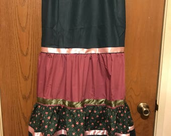 Ribbon Skirt, Ceremonial Skirt, Sundance Skirt, Pow Wow Skirt, Regalia