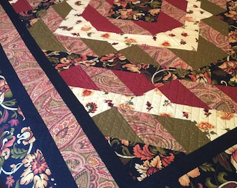 Twin Quilt in vibrant colors