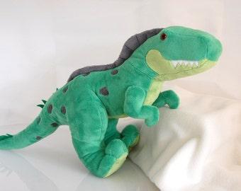 "DELUXE T-Rex Customizable Handmade Minky Dinosaur Plush 24"""