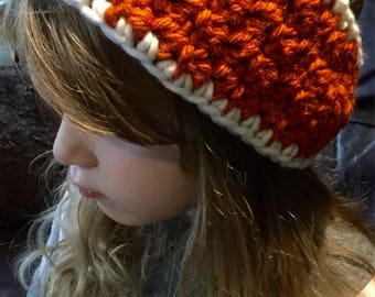 Chunky crochet headband *fits adult and child