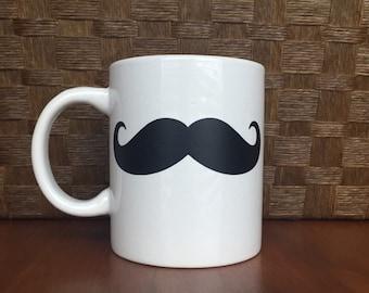 Mustache coffee mug!  *Coffee mug, coffee cup, funny coffee mug, funny coffee cup, gift, personalized mugs  Perfect Easter and Graduation