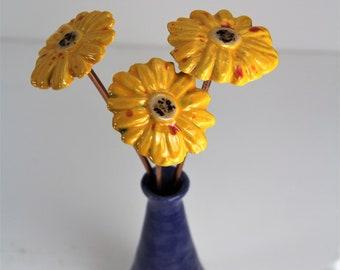 flower bouquet, flower and vase set