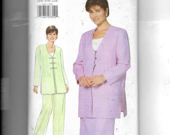 Butterick Women's/ Women's Petite Tunic, Top, Skirt and Pants Pattern 5491