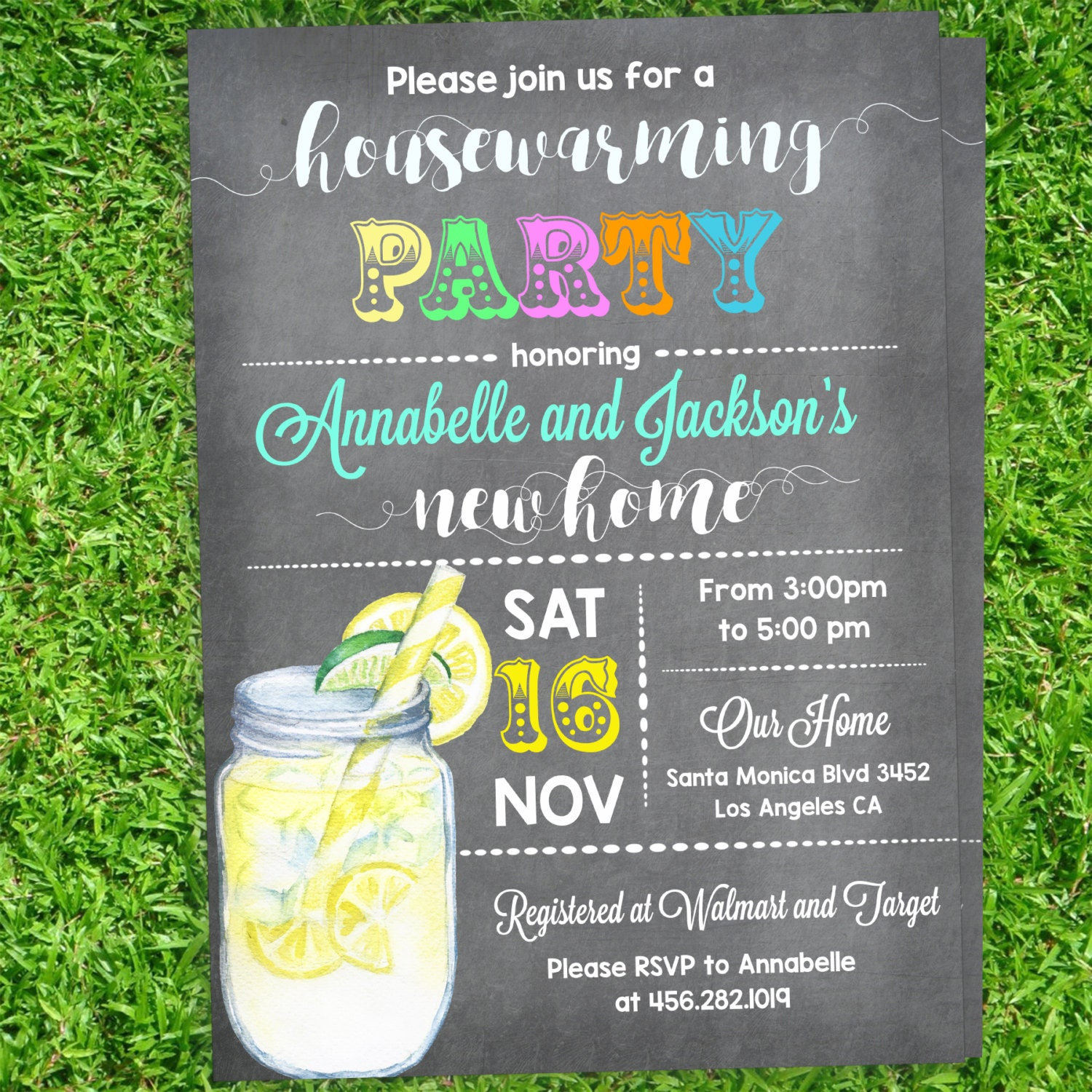 Housewarming Cocktail Party Invitations Cocktail