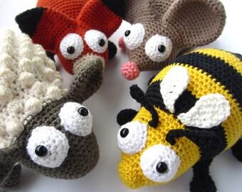 Amigurumi Chubby Animals Crochet Patterns