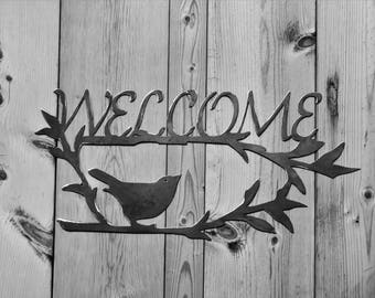 Welcome with Bird