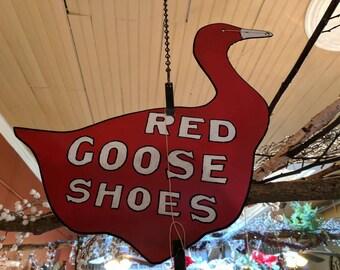 Red Goose Hanging String Holder