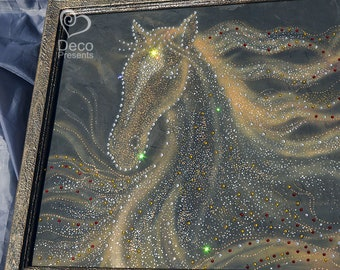 "Picture from crystals Swarovski ""Horse"""
