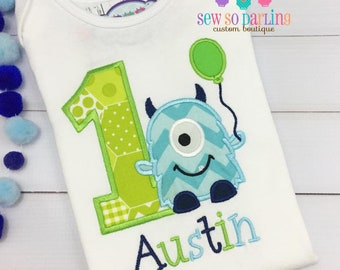 baby boy first birthday outfit - 1st Birthday Monster Shirt - Monster Birthday Shirt -  Baby Boy Monster Birthday Outfit - Birthday shirt