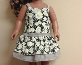 """1ofakinddollclothes AmericanGirl 18""""doll 2pc Summer skirt and tank top with Summer sandles   SOLD OUT NO longer avaliable"""