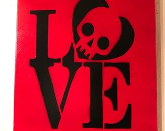 Love skull