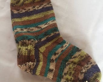 Hand Knit Wool Socks (4)