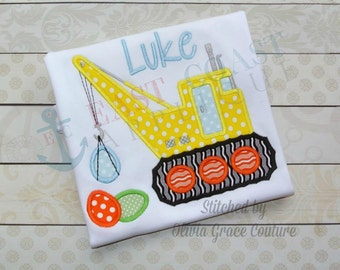 EASTER CRANE machine embroidery design