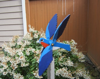 Blue Bird Whirligig