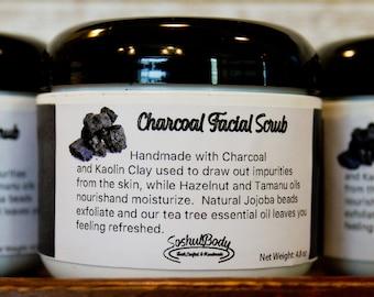 Charcoal Facial Scrub