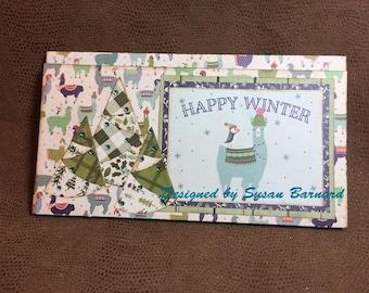 Alpin, Winter, Tri-Fold, Mini  Wallet Album