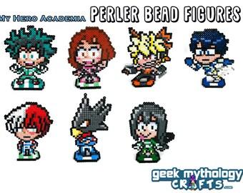 My Hero Academia - Boku No Hero - Perler Fuse Bead Sprite Pixel Art Figures
