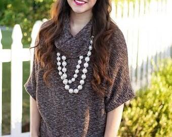 Dolman Shirt Pattern for Women PDF, dolman shirt top sewing pattern for women PDF, seamingly smitten