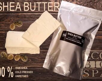 Shea Butter BIG SIZE, RAW, Cold pressed, unrefined, lotion, moisturizing, unrefined, pure, eco, raw shea butter, body butter, skin care,
