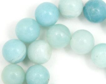Amazonite Beads - 10mm Round