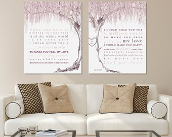 Willow Tree Art, Make You Feel My Love, Adele Lyrics, Willow Anniversary,