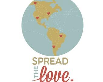 spread the love.. printable.. digital download